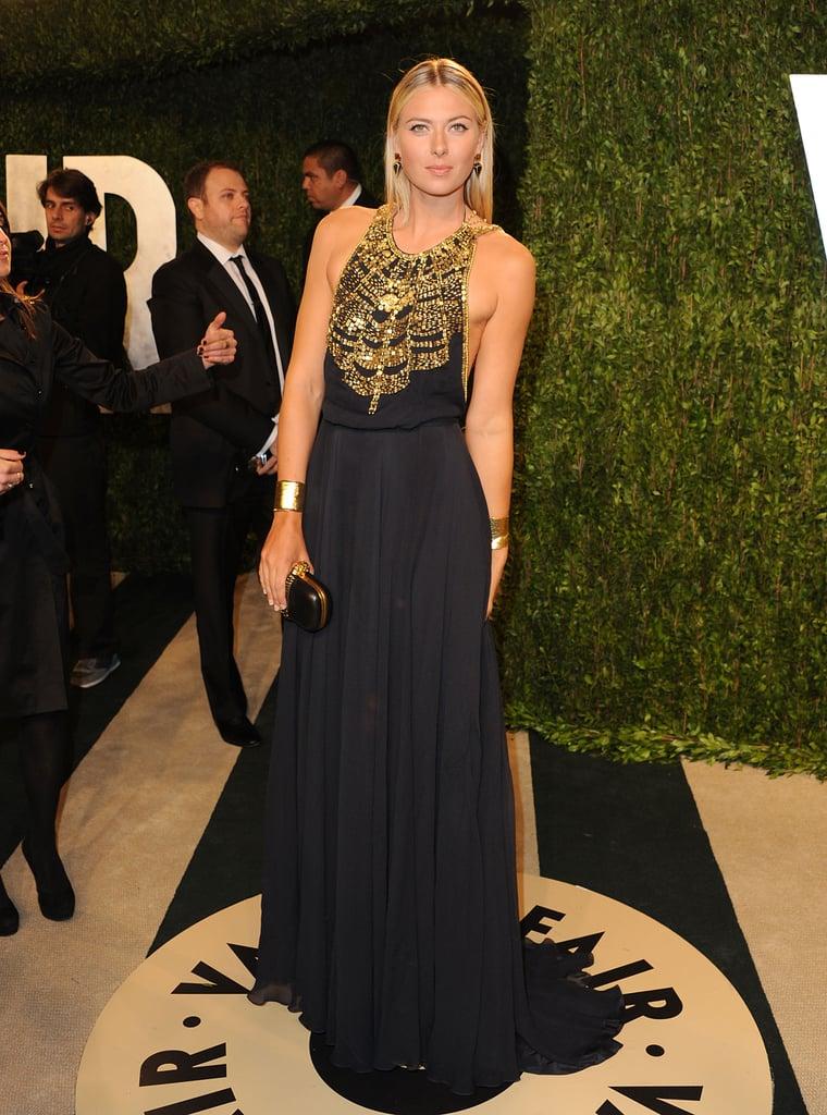Maria Sharapova Six Feet Two Inches