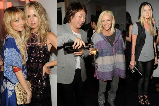 Photos of Nicole Richie, Rachel Zoe, Benji Madden, Nicky Hilton at Byron and Tracey Salon Party in LA