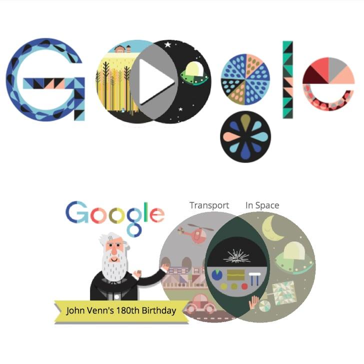 Venn Diagram Google Doodle Popsugar Tech