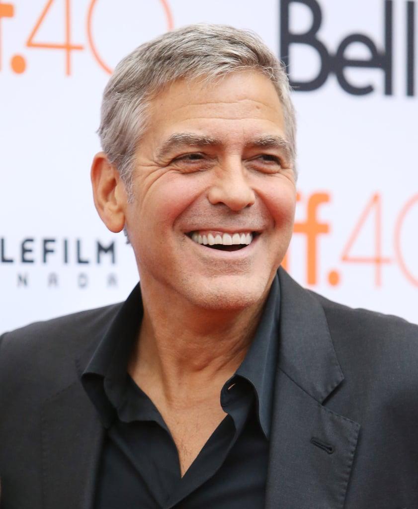 Sandra Bullock And George Clooney At The TIFF 2015