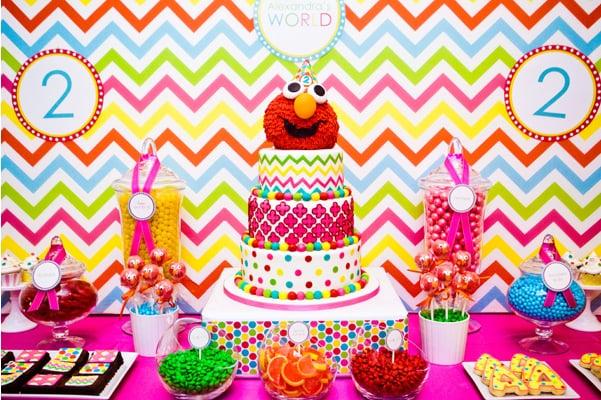 Elmo Cake Girls Birthday Cakes POPSUGAR Moms Photo 2