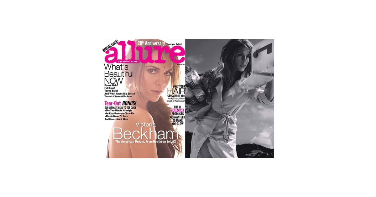 Pictures of Victoria Beckham in 2011 Allure Magazine 2011 ...