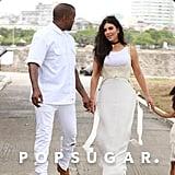 Kim and Kanye Twinning in Cuba
