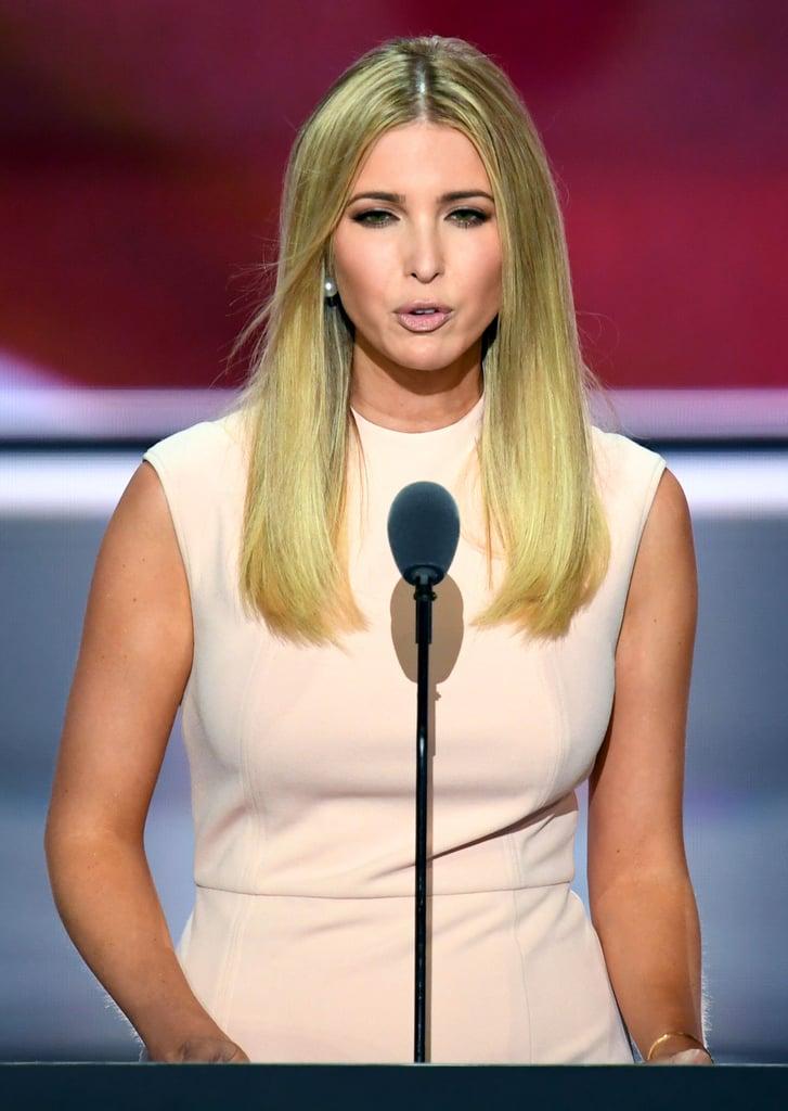 Ivanka Trump's RNC Dress Looks Simple, but It Says a Whole Lot