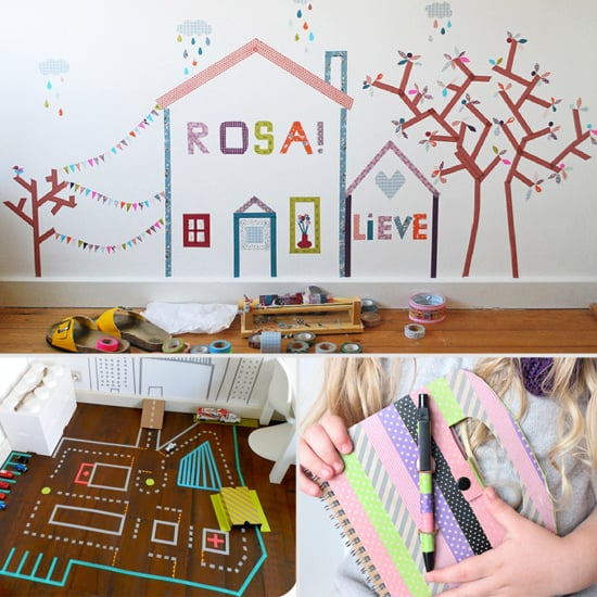 Washi Tape Crafts For Kids