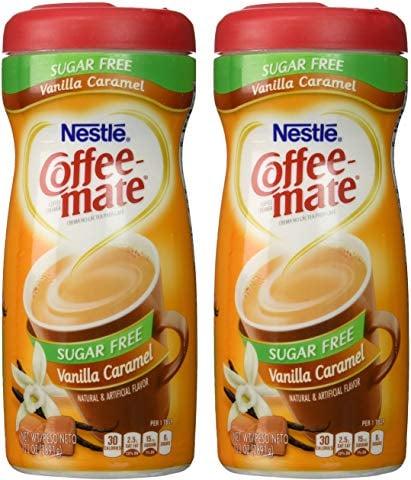 Coffee Mate Coffee Creamer Sugar Free Vanilla Caramel Best