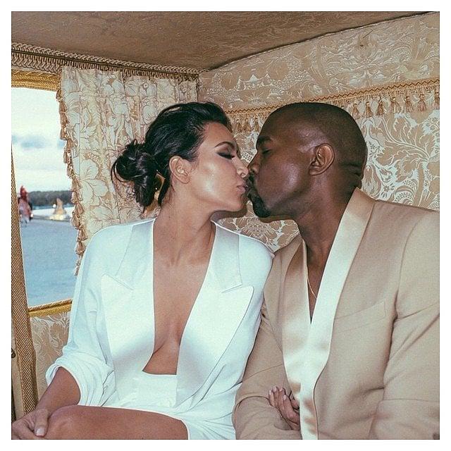 Kim kardashian and kanye west wedding pictures and details kim kardashian celebrates her anniversary with new gorgeous wedding snaps junglespirit Image collections