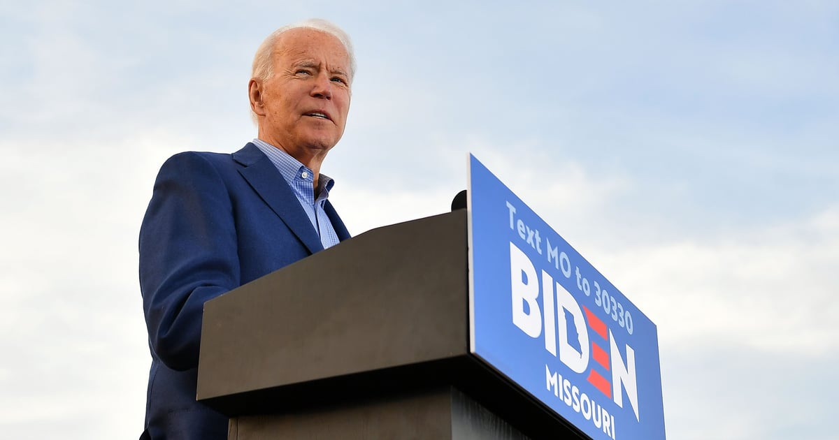 This Is Your Guide to Joe Biden's Healthcare Plan Ahead of the 2020 Presidential Election