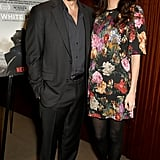 January: Amal Supported Her Husband at a London Movie Screening Hosted by George's Foundation