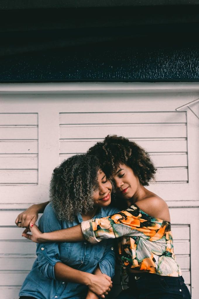 Give someone (or yourself!) a hug.