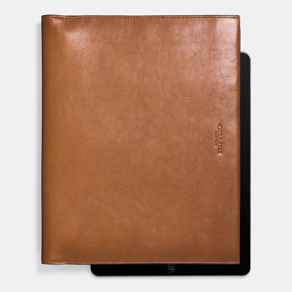 Coach Bilfold iPad Case ($250)