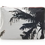 For the girl who stays stylishly busy, this Dezso canvas pouch ($65) will provide an easy-breezy accent. Almost literally. We love that you can use this palm-tree-printed pouch as a laid-back clutch or use it as a makeup bag.