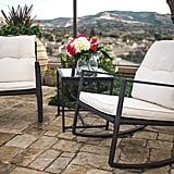 Suncrown Outdoor Rocking Wicker Bistro Set