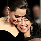 Pictured: Angelina Jolie and Loung Ung