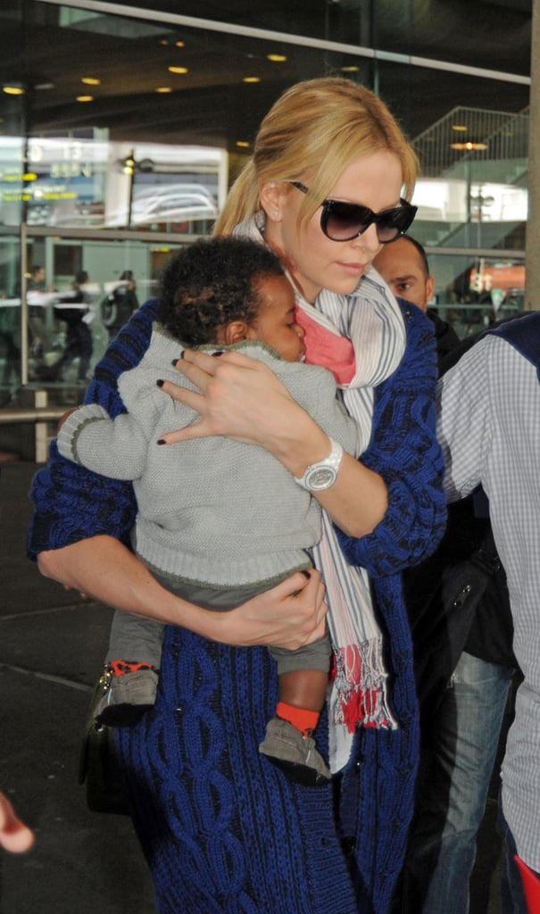 See Charlize Theron's Son Jackson!