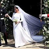 When They Made Their Way Toward the Carriage and We Got to Appreciate That Dress Once More