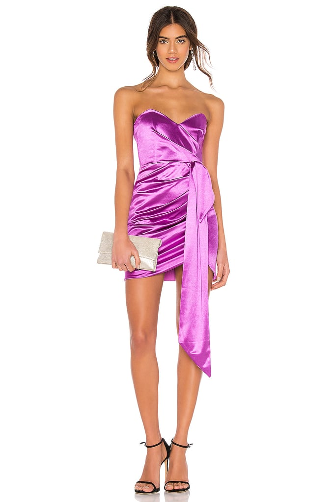 Nookie Vixen Satin Mini Dress