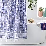 Batik Star Shower Curtain