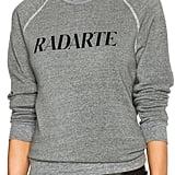 Rodarte Radarte Poly-Blend Sweatshirt ($154)