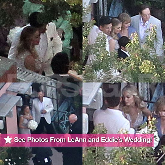 See LeAnn Rimes And Eddie Cibrian Wedding Photos
