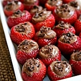 Vegan Chocolate-Mousse-Filled Strawberries
