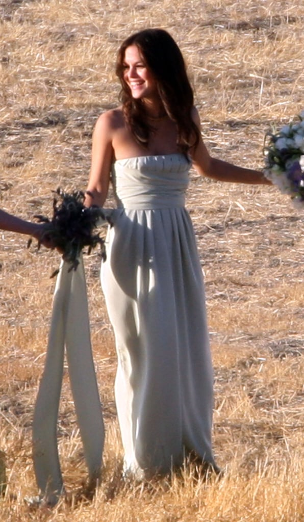 Rachel Bilson was part of Josh Schwartz and Jill Stonerock's big day at a Santa Barbara ranch in September 2008.