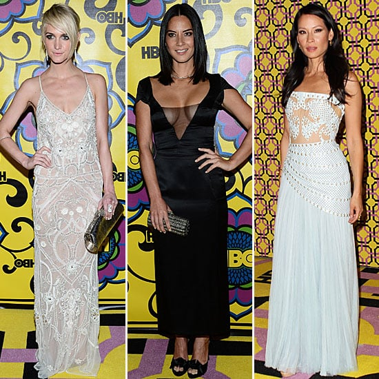 Pictures of Celebrities at the HBO Emmy Awards After Party: Olivia Munn, Lucy Liu and more!