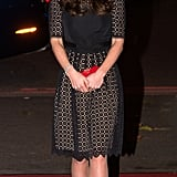 Kate Middleton in a Temperley Dress
