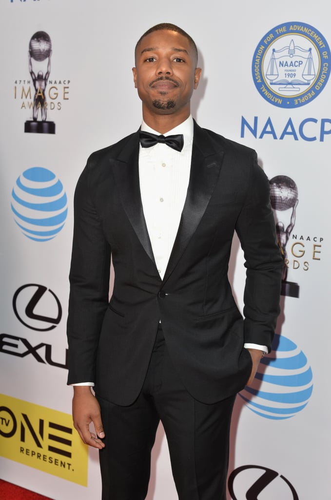 Michael B. Jordan at the NAACP Image Awards 2016