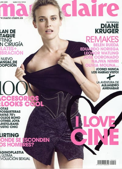 Diane Kruger does Marie Claire Spain-october 09