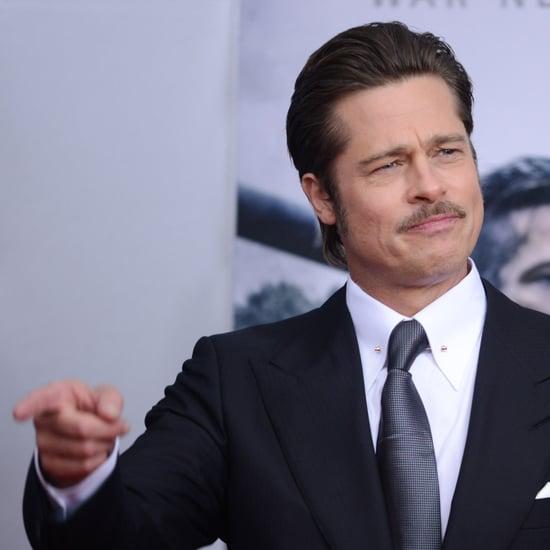 Brad Pitt in Fury Movie