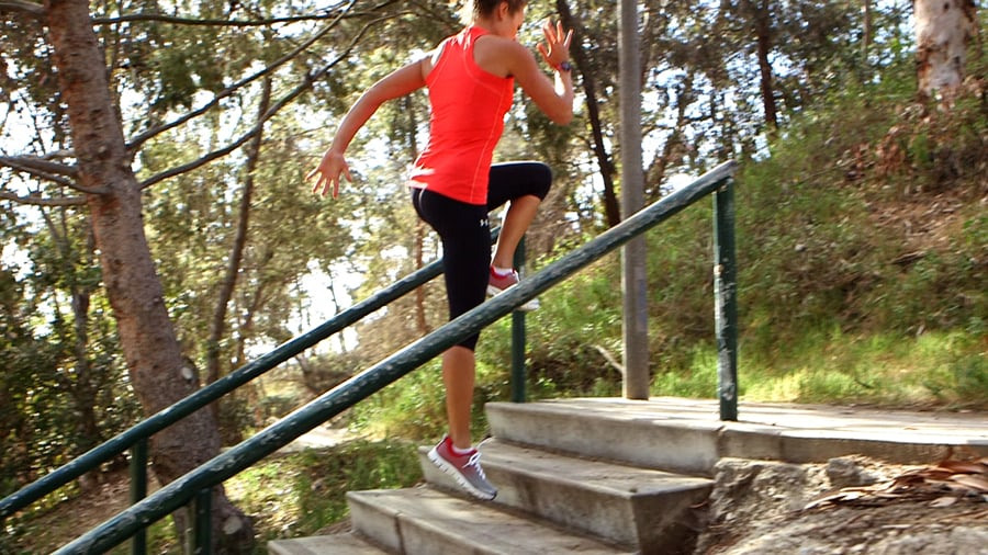 Switch Up a Stair Workout With These Five Exercises