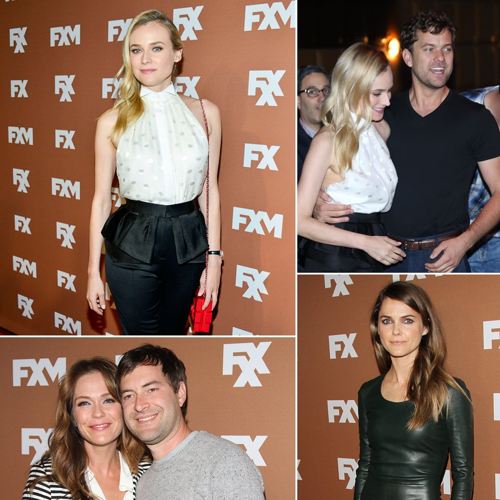 Diane Kruger and Joshua Jackson at FX Upfronts in NYC Photos