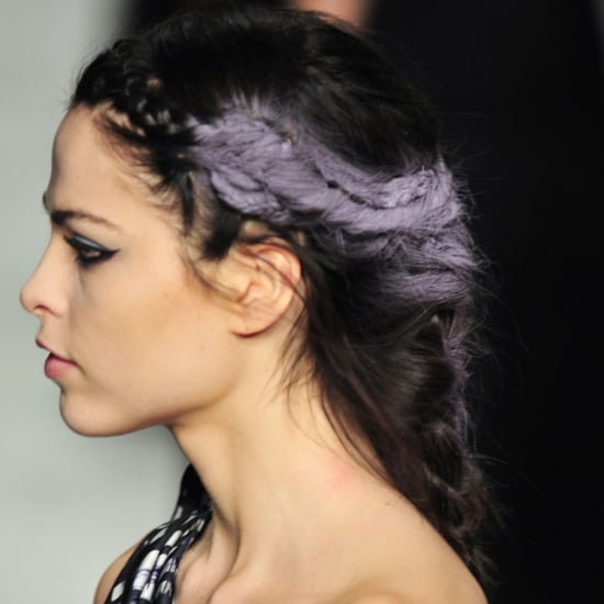Coloured Hair Trend at Fall 2014 New York Fashion Week