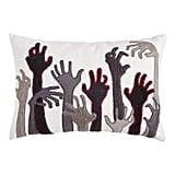 Zombie Hands Lumbar Pillow