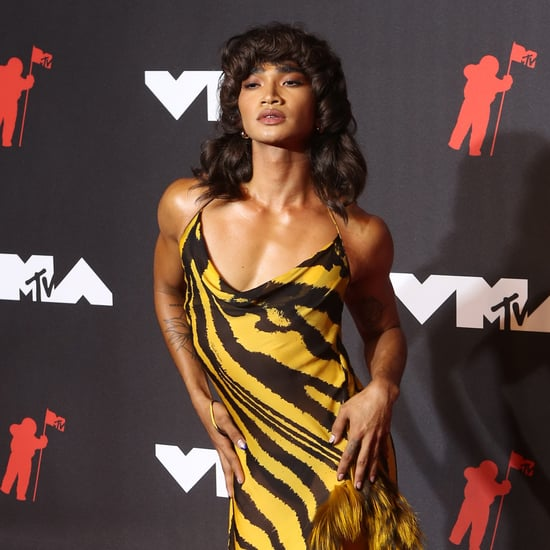 VMAs: Bretman Rock Wears Roberto Cavalli Dress Aaliyah Wore