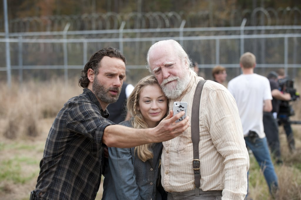There's a Zombie Apocalypse, but First, Let's Take a Selfie