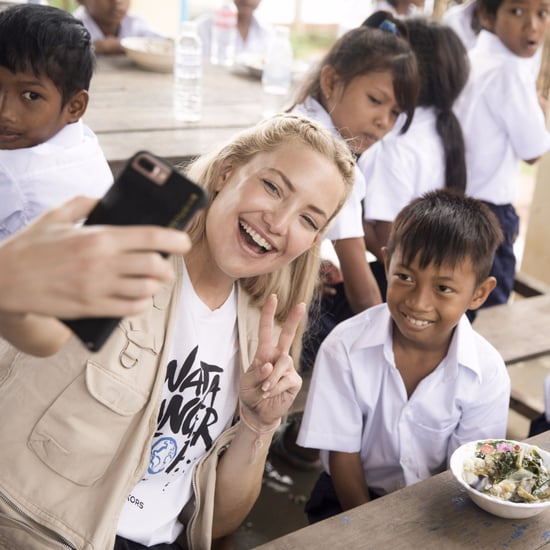 Kate Hudson's Michael Kors Watch Hunger Stop Cambodia Trip