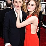 Pictured: Nolan Gould and Joey King