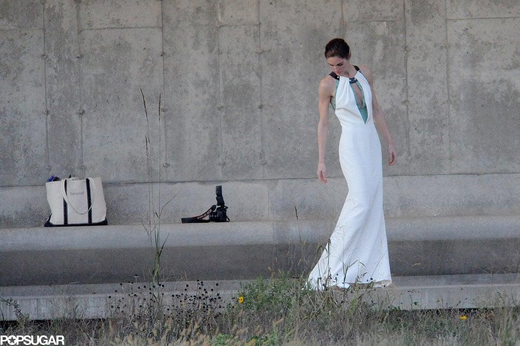 Hilary Rhoda Wedding Dress | POPSUGAR Fashion