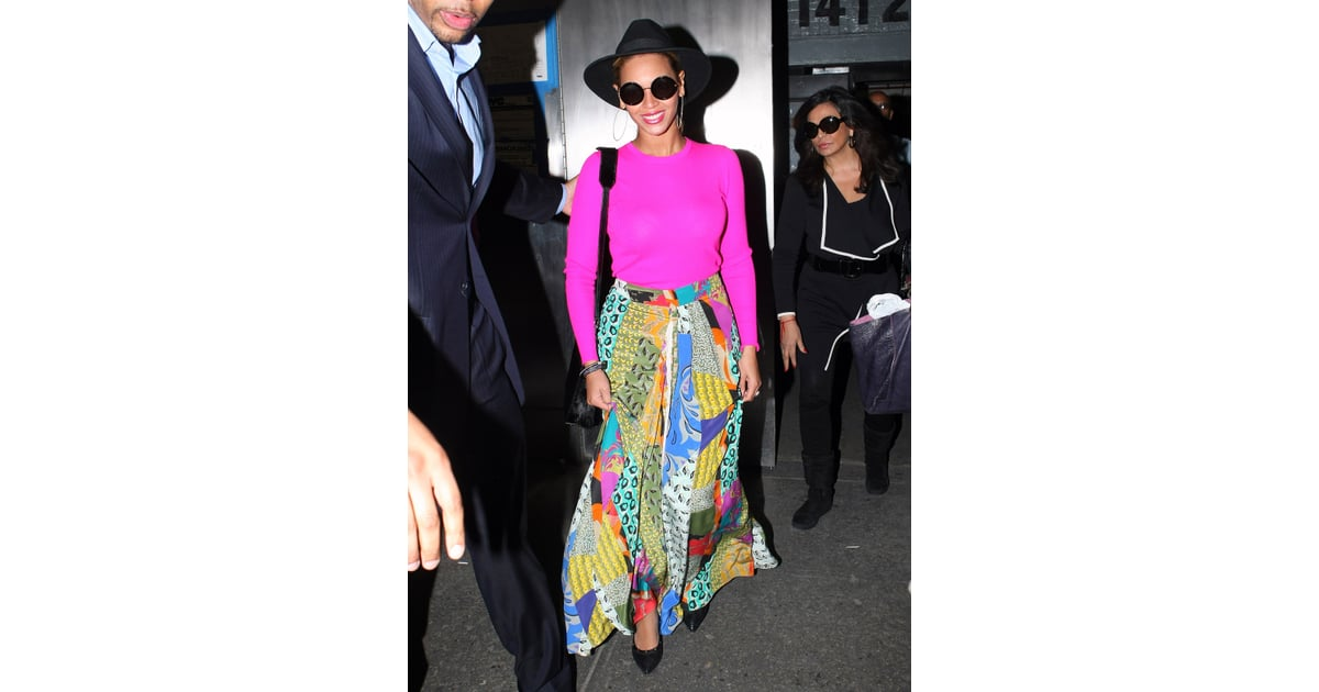 67186494226 Nobody wears a hat quite like Beyoncé — the superstar wore her black ...