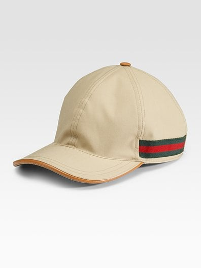 Now this is a glam way to go sporty. Gucci Baseball Hat ($315)