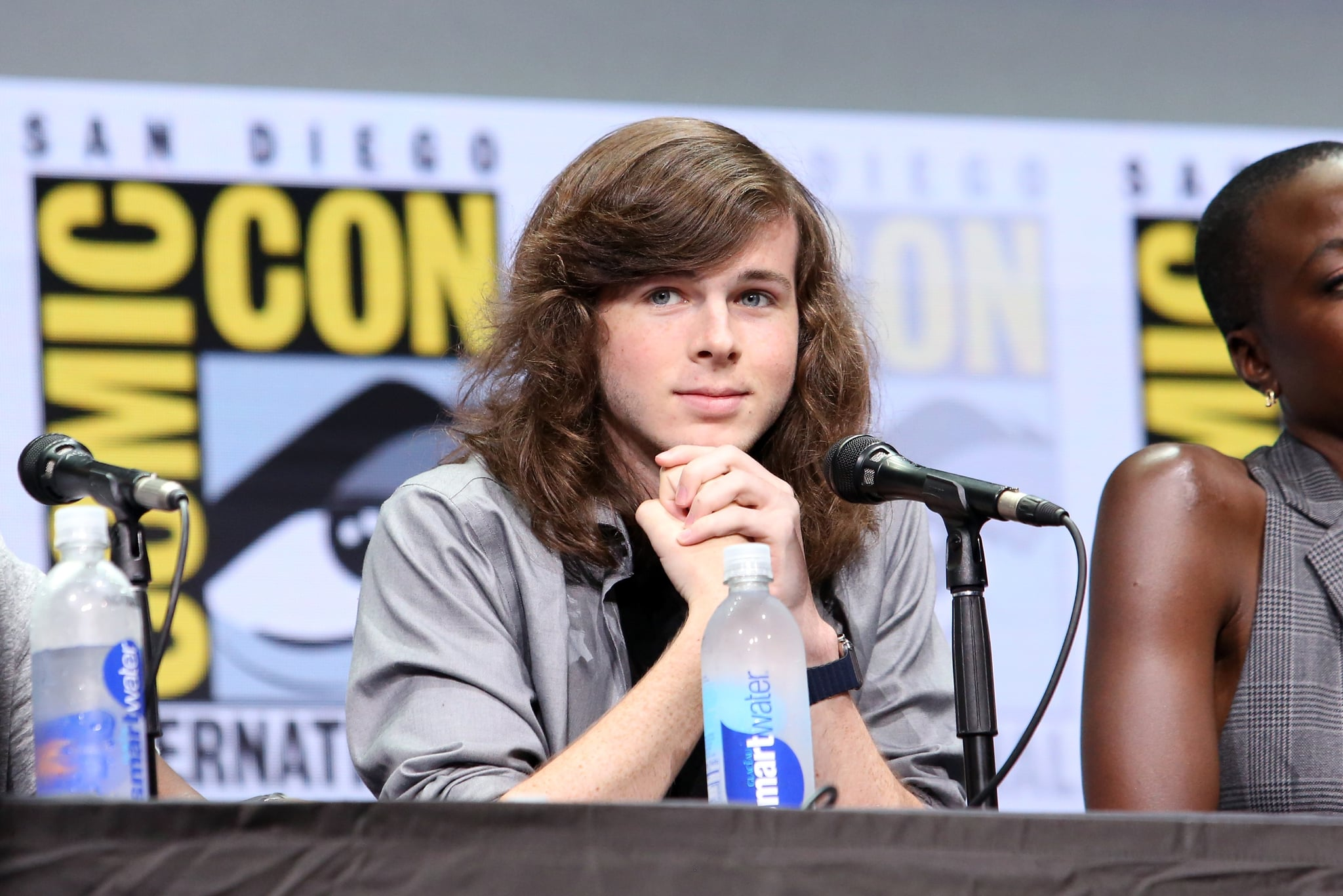 Was chandler riggs fired from the walking dead popsugar entertainment considering he hasnt yet been killed off in the comics a lot of fans of the walking dead have been pretty confused about why young carl grimes isnt going m4hsunfo