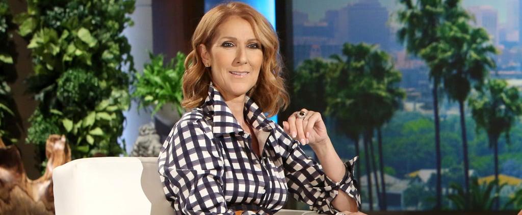 Celine Dion Talks About Husband on Ellen DeGeneres Show 2016