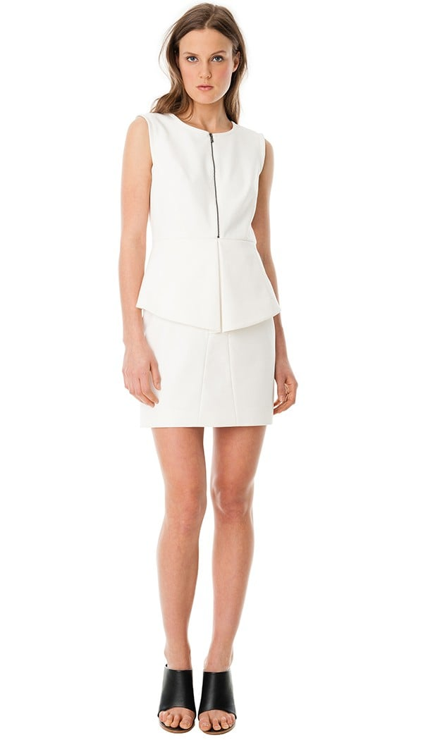 Tibi White Dress