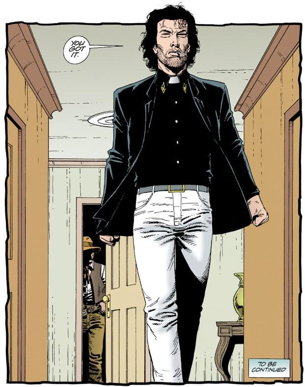 Jesse Custer in the comics
