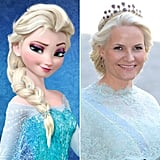 Queen Elsa/Princess Mette-Marit of Norway