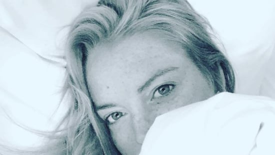 Lindsay Lohan Shares a Selfie in Bed: 'Being Alone is the Best Way to Find Yourself'