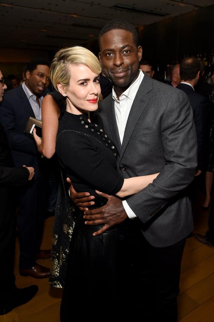 His Celebrity Crush Is Sarah Paulson