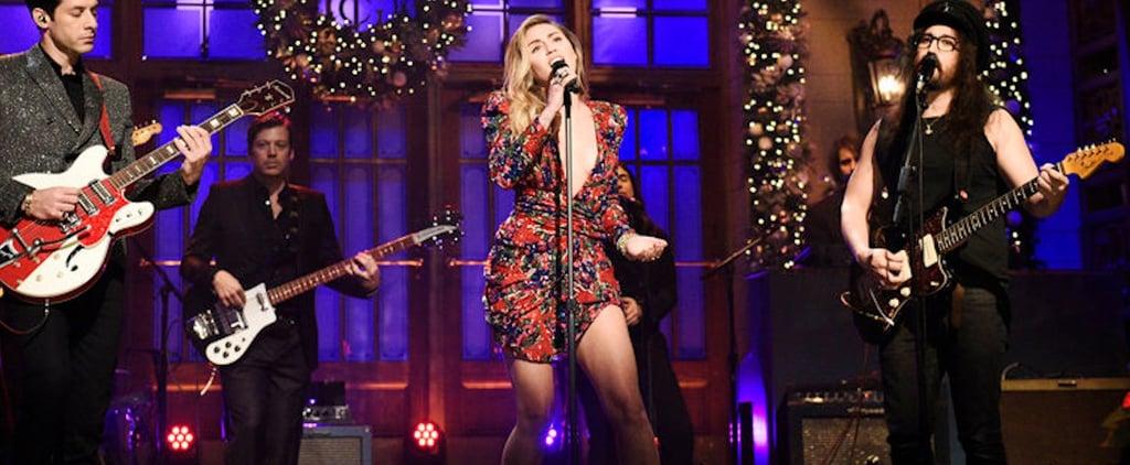 Miley Cyrus's SNL Dress December 2018